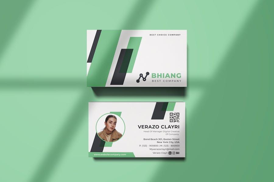Bhiang Business Card