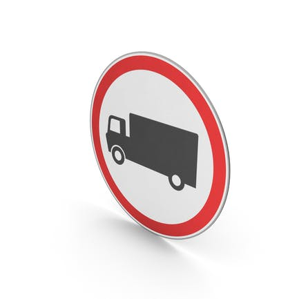 Verkehrsschild Keine schweren Nutzfahrzeuge