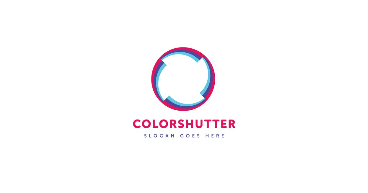 Download Color Shutter Logo Vector Template by Pixasquare