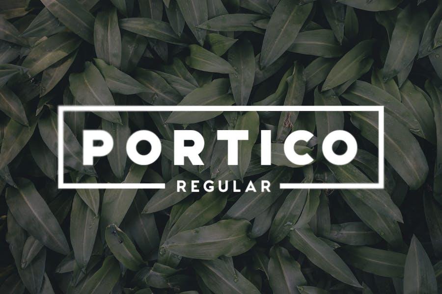 Portico Regular