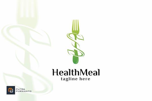 Health Meal - Logo Template