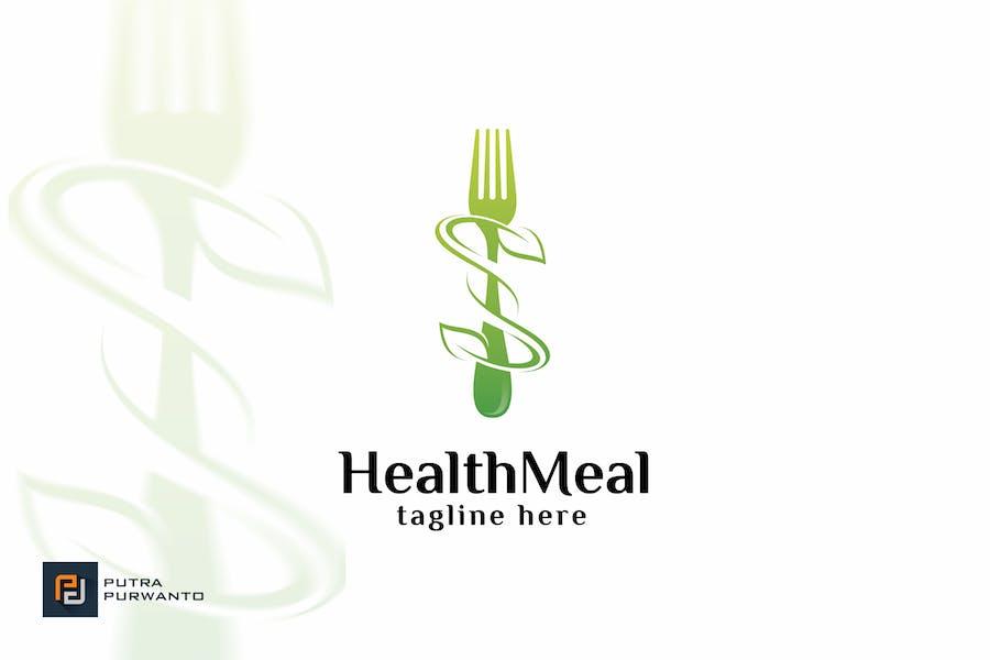 Health Meal - Logovorlage