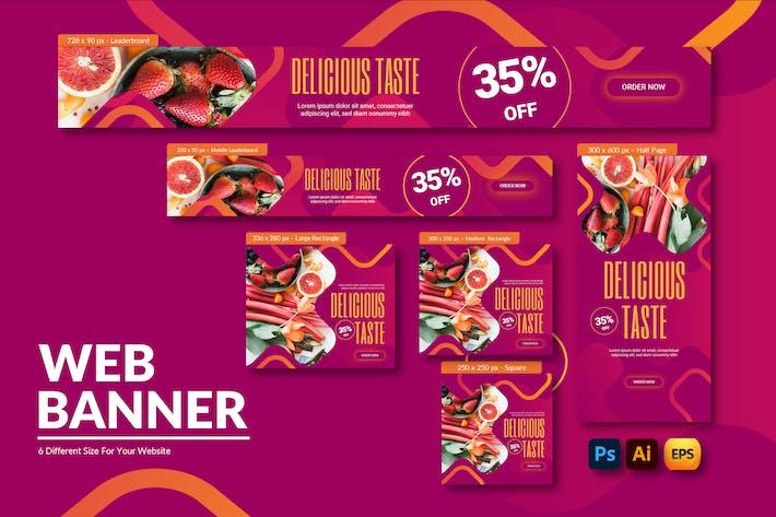 Restaurant | Web Banner