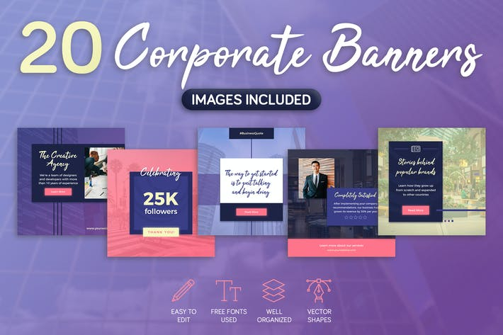 Thumbnail for Corporate Banners