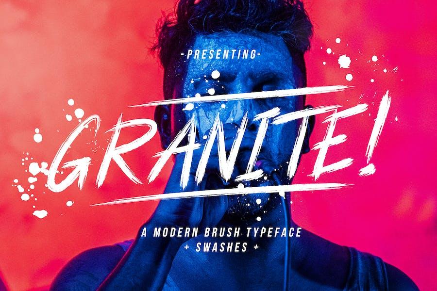 Granite Brush Business Font