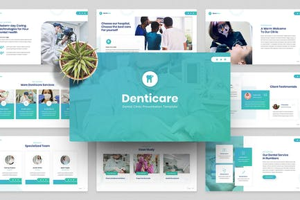 Dentist & Dental Clinic Google Slides Template