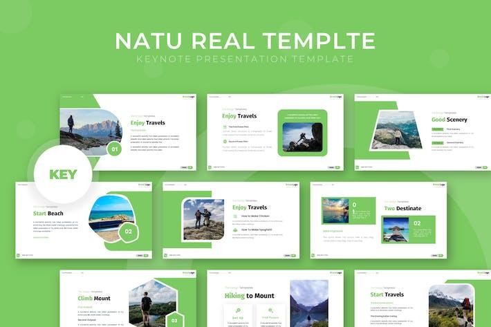 Natu Real - Keynote Template