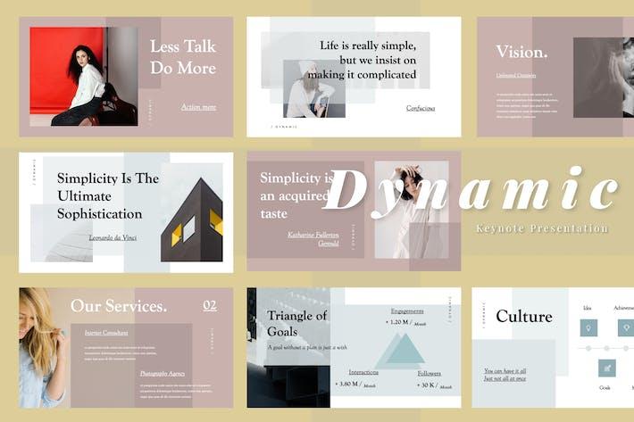 Thumbnail for Dynamic Keynote Presentation