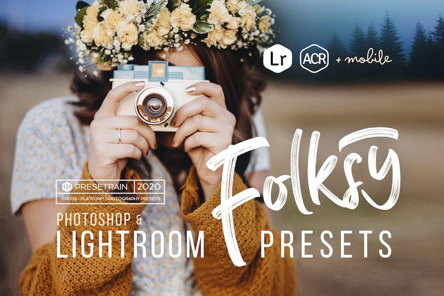 Folksy Presets for Lightroom & ACR