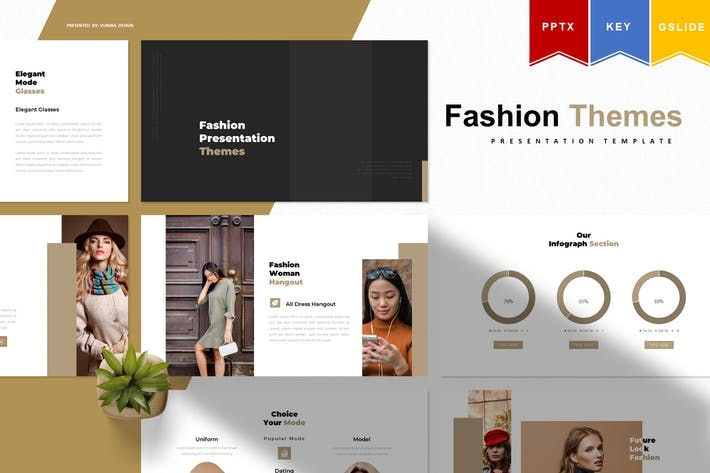 Thumbnail for Fashion Themes | Powerpoint, Keynote, GoogleSlides