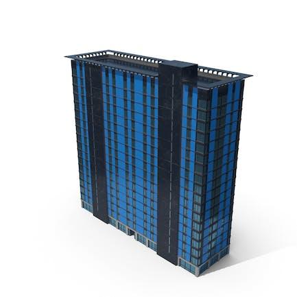 Городское здание Синий Грязный