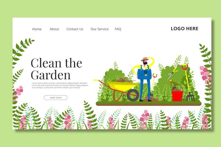 Thumbnail for Gardener - Landing Page
