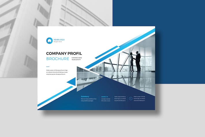 Cover Image For Company Profile Landscape