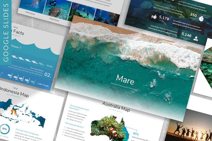 Mare - Океан Google Слайды Шаблон