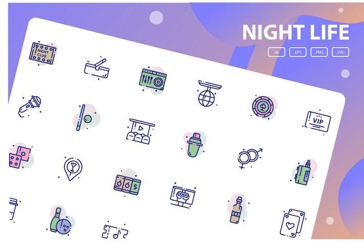 Thumbnail for Nachtleben Icon Pack