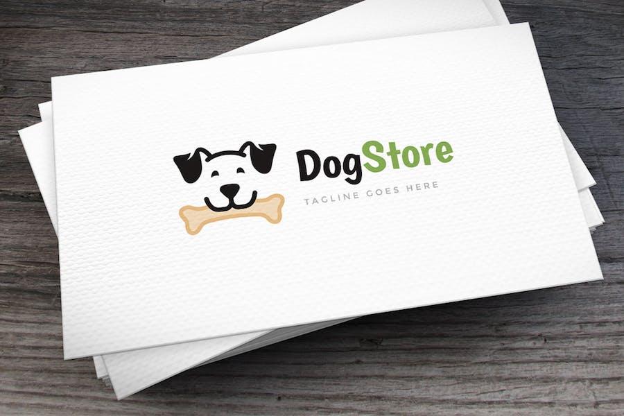 Dog Store Logo Template