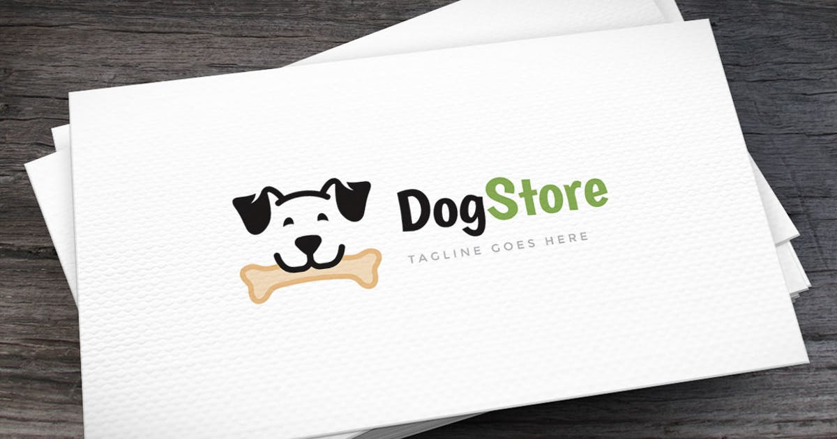 Download Dog Store Logo Template by empativo