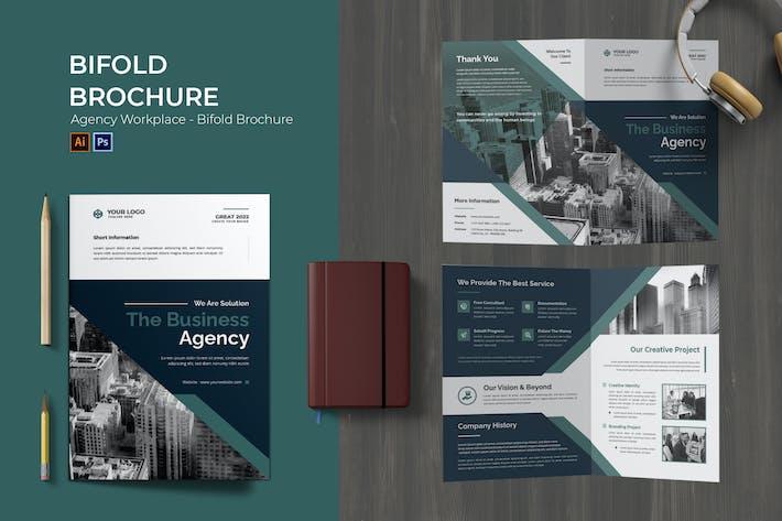 Agency Workplace Bifold Brochure