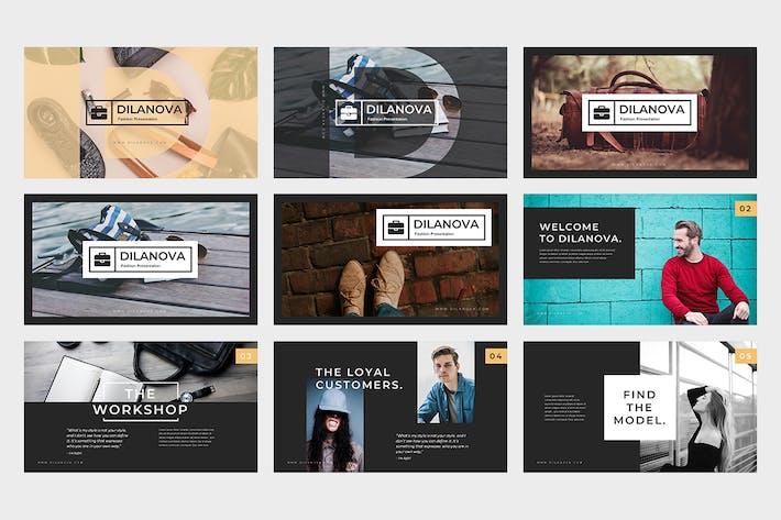 Thumbnail for Dilanova : Fashion Google Slides Template