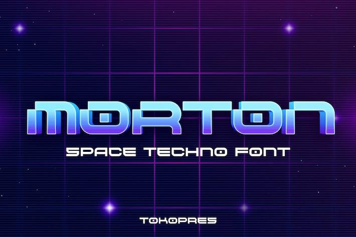 MORTON - tecno scifi fuente