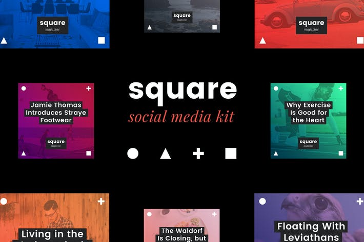 Thumbnail for Square Social Media Kit