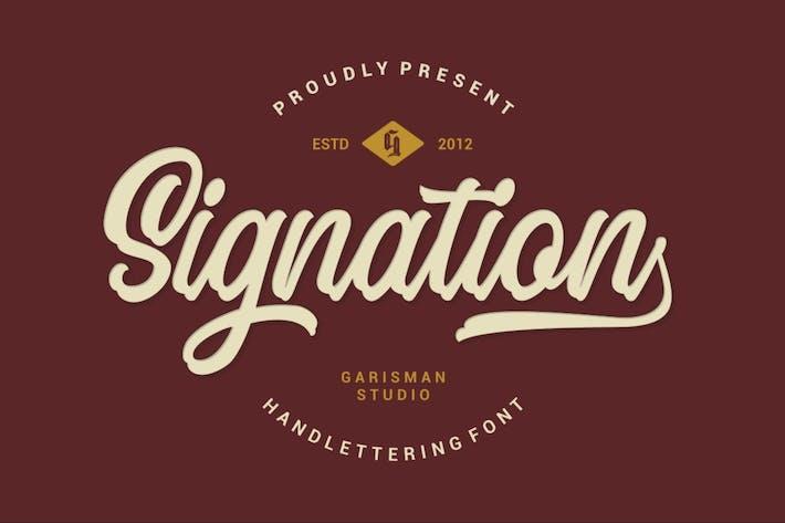 Thumbnail for Signation