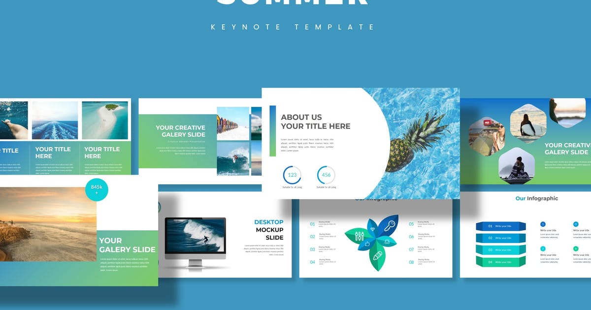 Download Summer - Keynote Template by aqrstudio