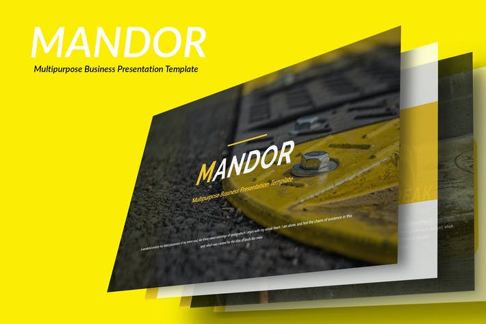 Thumbnail for Mandor - Multipurpose Business PowerPoint