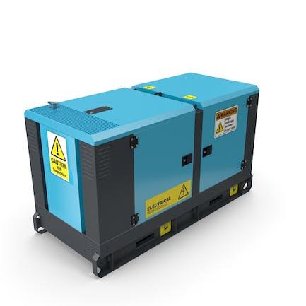 Power Generator himmelblau