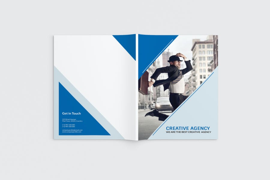 AgencyPro - A4 Agency Brochure Template