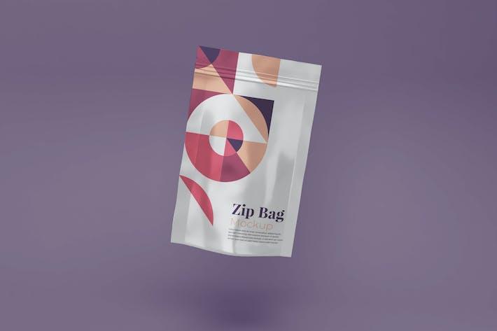 Thumbnail for Zip Bag Mockup