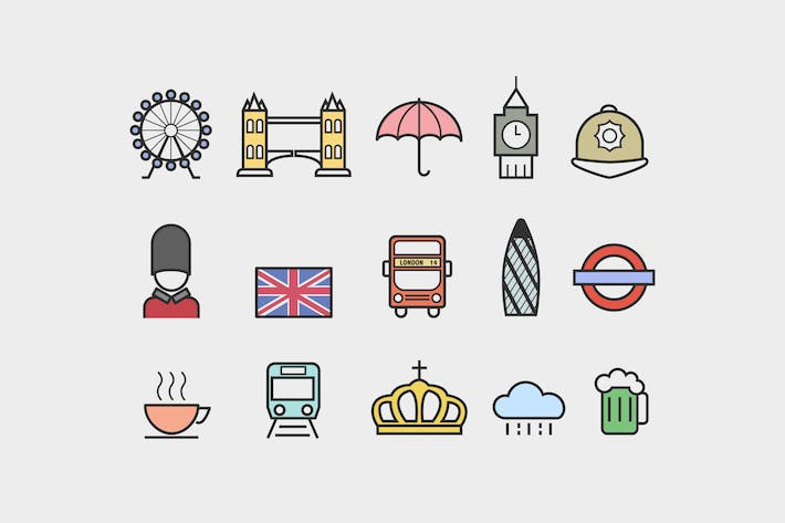 Thumbnail for 15 London Icons