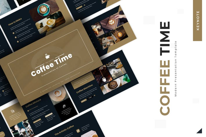 Thumbnail for Coffee Time - Keynote Template