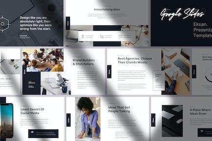 Eksan - Simple & Elegant Google Slides