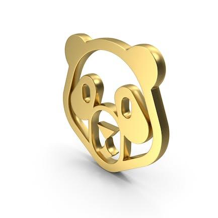 Значок Логотип Panda
