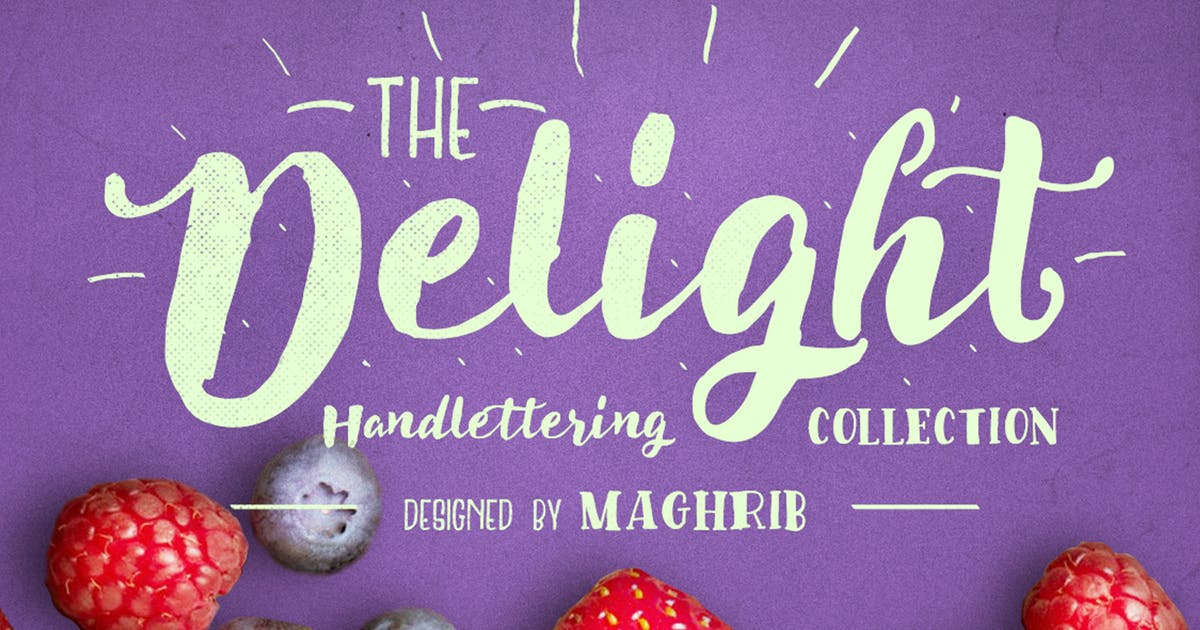 Download Delight Font Pack & Extra by maghrib