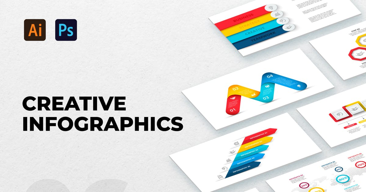 Download Creative Infographic Set 06 by Abert84
