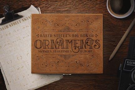 Baker Street Ornements