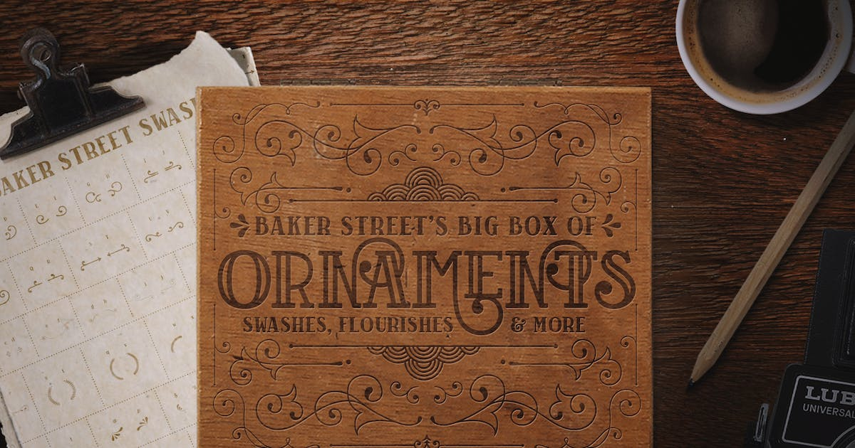 Download Baker Street Ornaments by kimmydesign