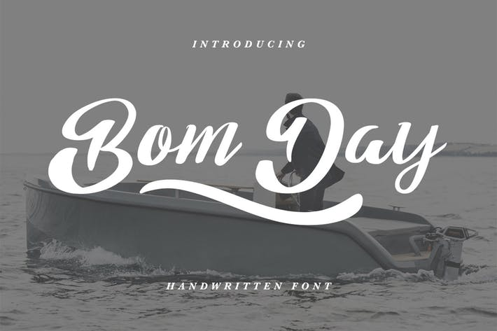 Thumbnail for Bom Day Font