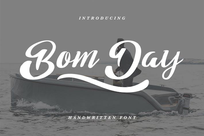 Thumbnail for Bom Day Font