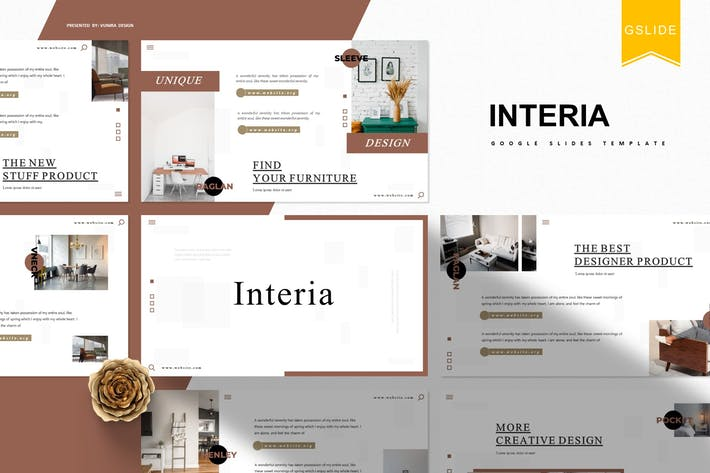 Thumbnail for Interia|Google Slides Template