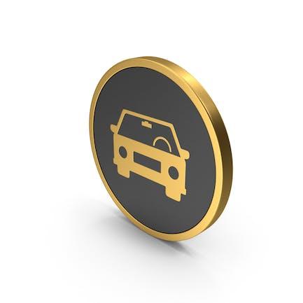 Gold Icon Car