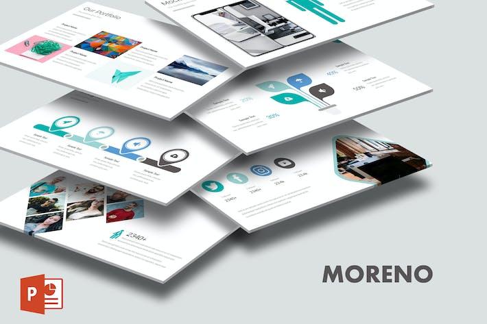 Thumbnail for Морено - Шаблон Powerpoint