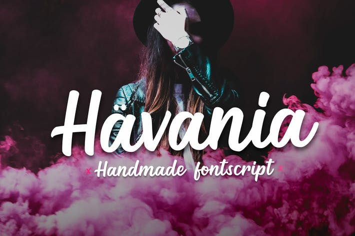 Thumbnail for Havania - Font Script