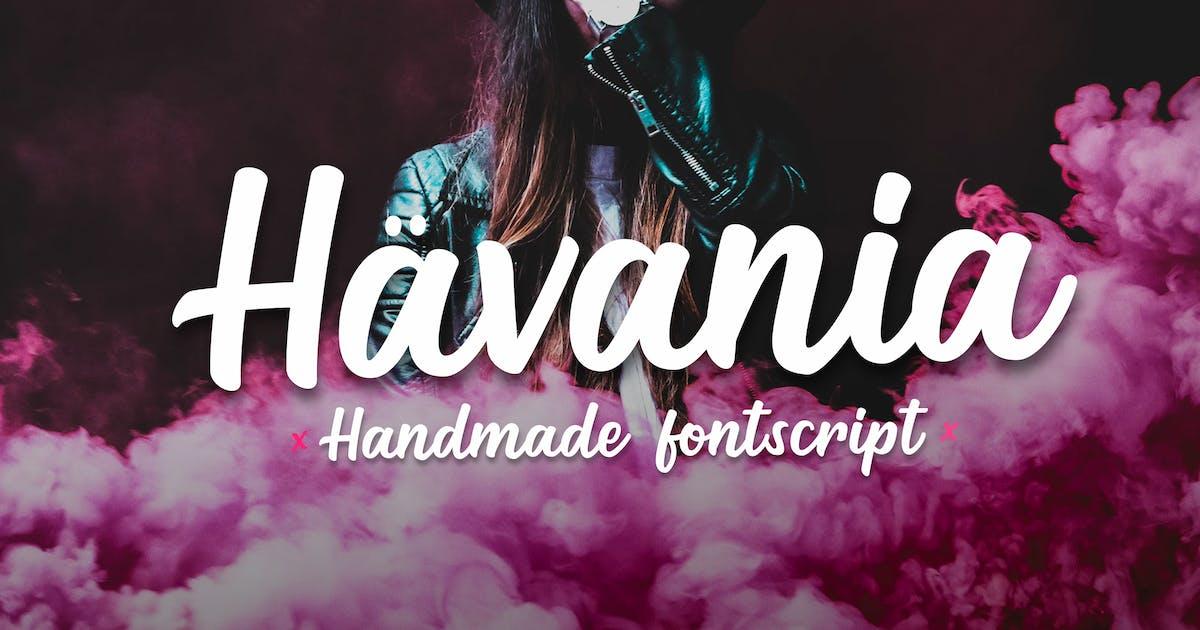 Download Havania - Font Script by micromove