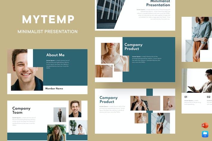 Thumbnail for Mytemp - Minimalist Presentation