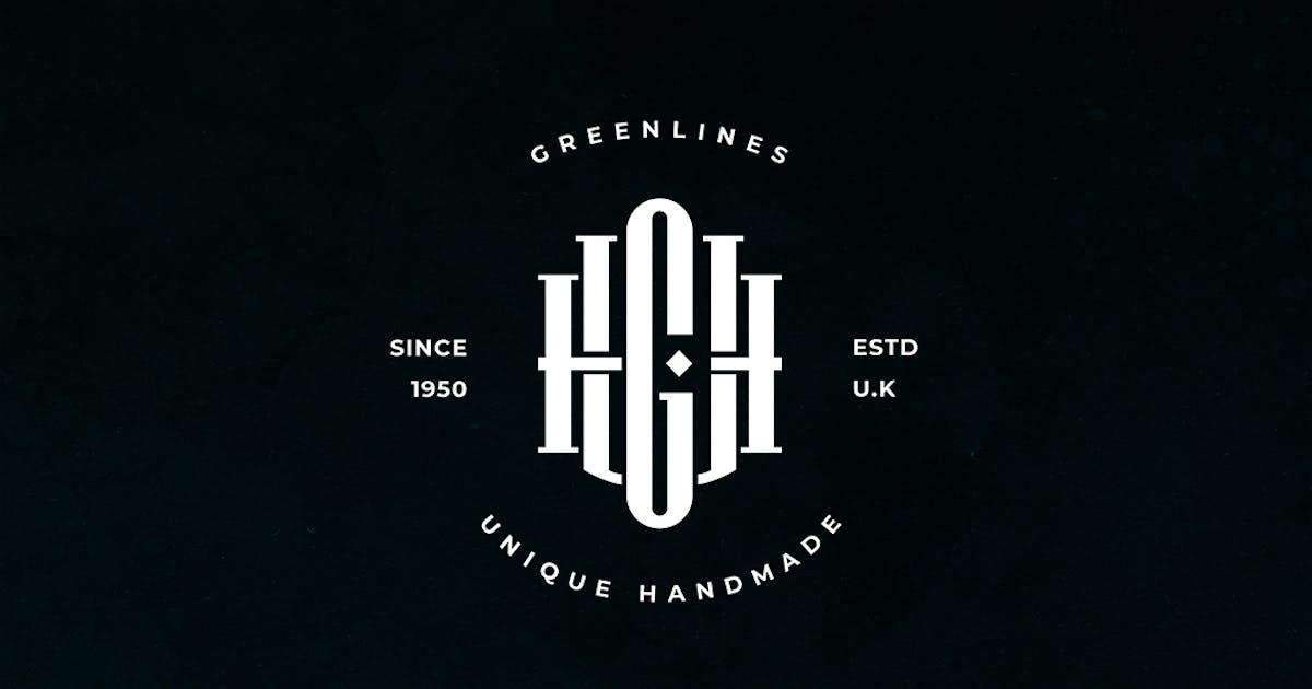 Download UGH Monogram Logo by sagesmask