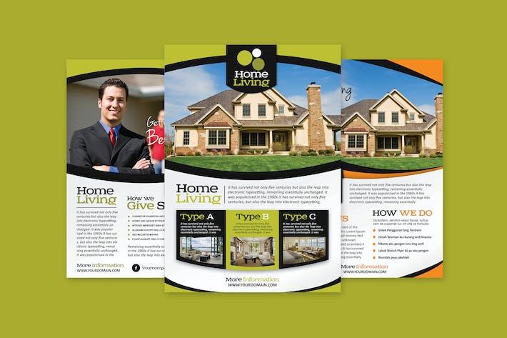 Thumbnail for Living Real Estate Flyer