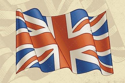 Vintage Flag Of United Kingdom